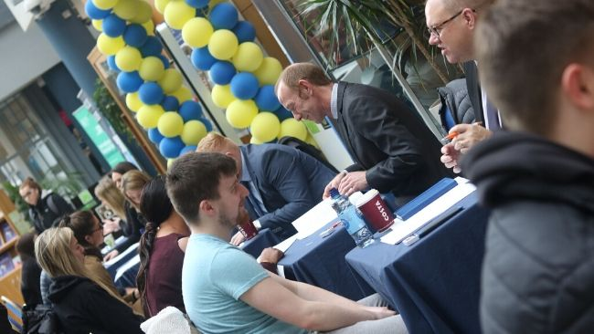 Interviews at Careers Fair