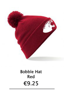 Red bobble Hat - NCI Shop