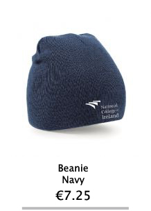 Navy Beanie Hat - NCI Shop