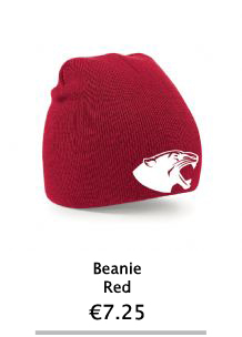 Red Beanie Hat - NCI Shop