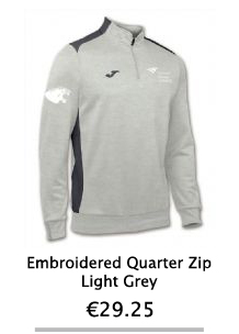 Embroidered Grey Zip Hoodie - NCI Shop