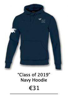 Class of 2019 Navy Hoodie - NCI Shop