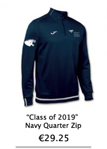 Class of 2019 Navy Zip Hoodie - NCI Shop
